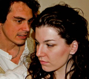 Factorys winters tale - Leontes (Ian Rogers) and Hermione (Bess Kaye)